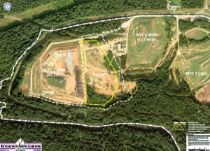 landfill overhead view