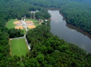 turner lake aerial scene