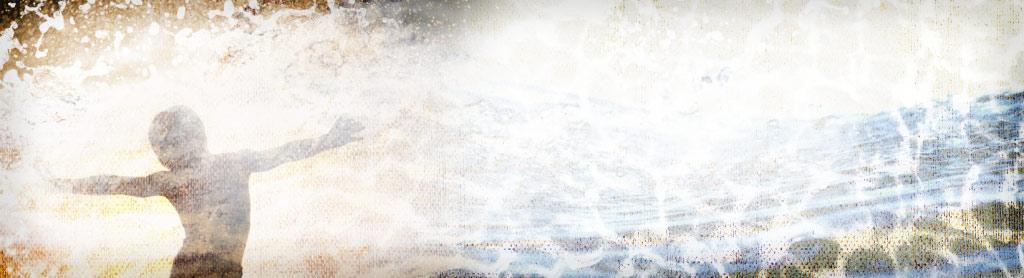 sureal water scene