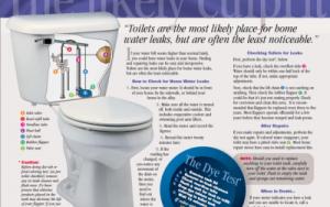 toilet leak image