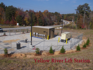 yellow river lift station scene