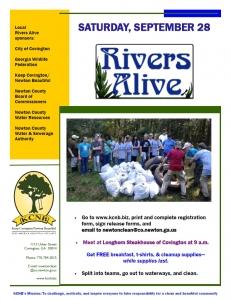 Rivers Alive flyer 2019