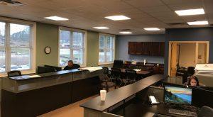 engineering office scene