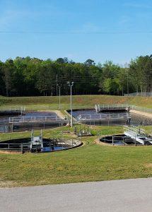 sewer plant scene