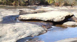 river shoals scene